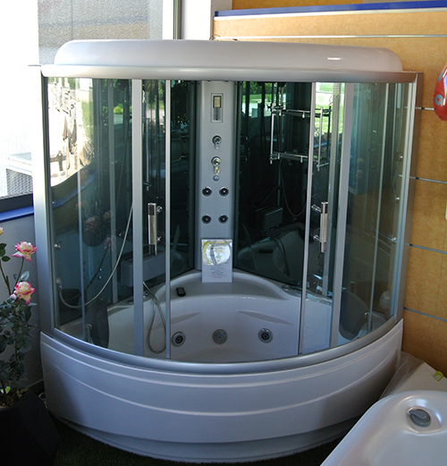 Spa sauna hammam belley entreprise collot - Cabine hammam places ...